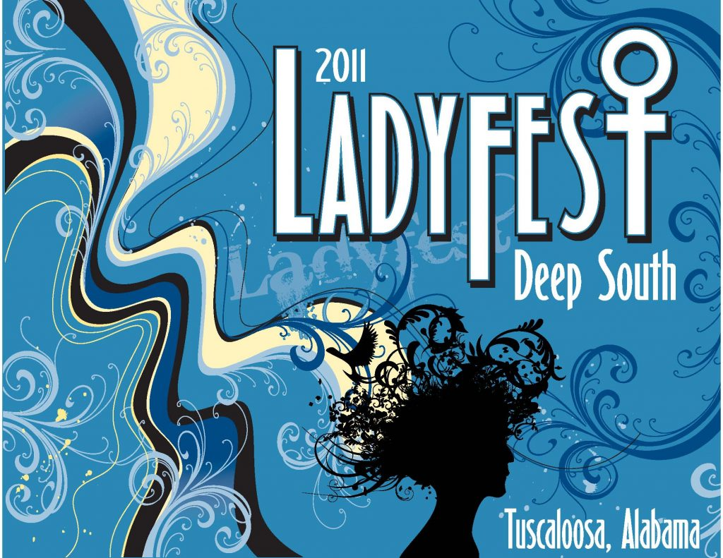 2011 Ladyfest Deep South logo